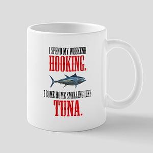 I spend my weekend hooking. Mugs