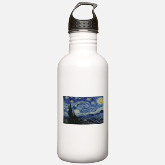 Vincent van Gogh's Sta Water Bottle