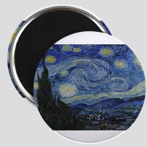 Vincent van Gogh's Starry Night Magnets