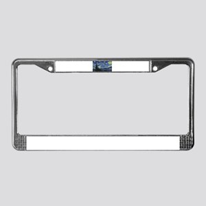 Vincent van Gogh's Starry Nigh License Plate Frame