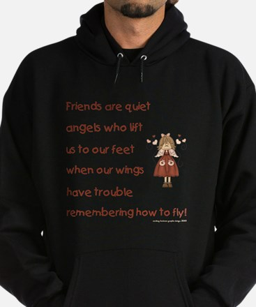 FRIENDS ARE... Hoodie (dark)