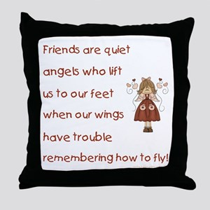 FRIENDS ARE... Throw Pillow