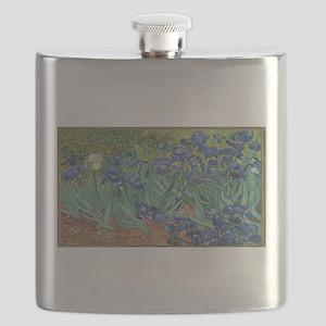 Vincent van Gogh's Irises Flask