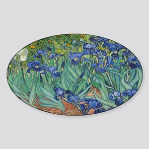 Vincent van Gogh's Irises Sticker
