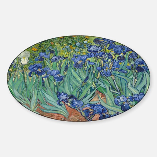 Vincent van Gogh's Irises Decal