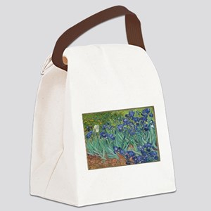 Vincent van Gogh's Irises Canvas Lunch Bag