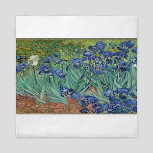 Vincent van Gogh's Irises Queen Duvet