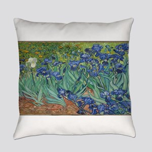 Vincent van Gogh's Irises Everyday Pillow