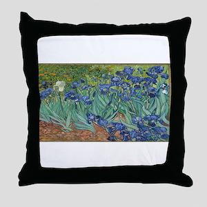 Vincent van Gogh's Irises Throw Pillow