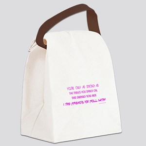 YOU'RE ONLY AS... Canvas Lunch Bag