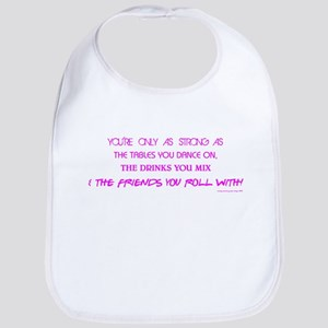YOU'RE ONLY AS... Bib
