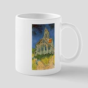 Vincent van Gogh's L'eglise d'Auvers sur Oise Mugs