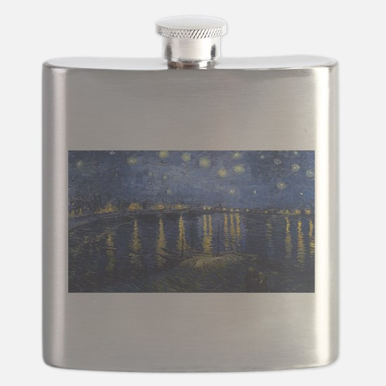 Vincent van Gogh's Starry Night Over the Rho Flask