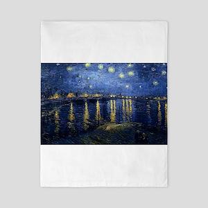 Vincent van Gogh's Starry Night Over th Twin Duvet