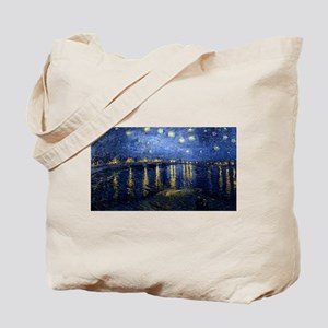 Vincent van Gogh's Starry Night Over the Tote Bag
