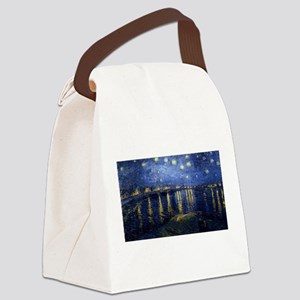 Vincent van Gogh's Starry Night O Canvas Lunch Bag