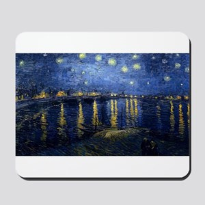 Vincent van Gogh's Starry Night Over the Mousepad