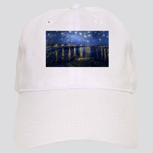 Vincent van Gogh's Starry Night Over the Rhone Cap