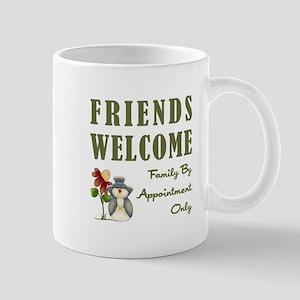FRIENDS WELCOME Mugs