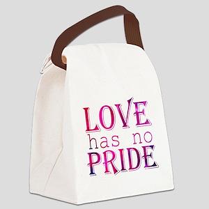 Love Has No Pride Canvas Lunch Bag