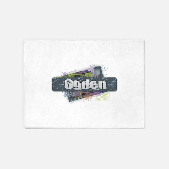 Ogden Design 5'x7'Area Rug