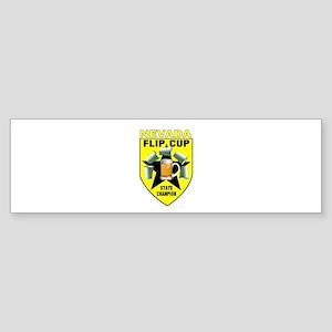 Nevada Flip Cup State Champio Bumper Sticker