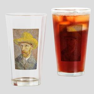 Vincent van Gogh's Self-Portrait wi Drinking Glass