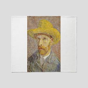 Vincent van Gogh's Self-Portrait wit Throw Blanket