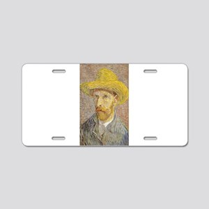 Vincent van Gogh's Self-Por Aluminum License Plate