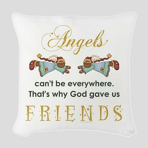 ANGELS... Woven Throw Pillow