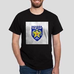 Nevada Flip Cup State Champio Dark T-Shirt