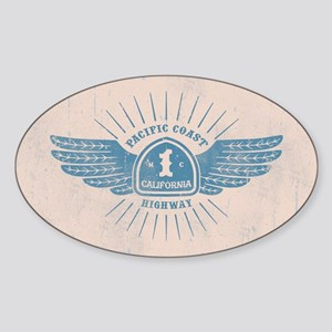 PCH Wings Sticker (Oval)
