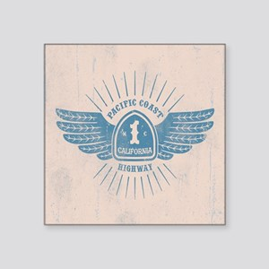 "PCH Wings Square Sticker 3"" x 3"""