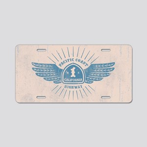 PCH Wings Aluminum License Plate