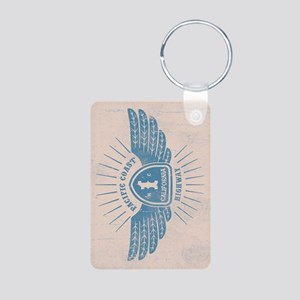 PCH Wings Aluminum Photo Keychain