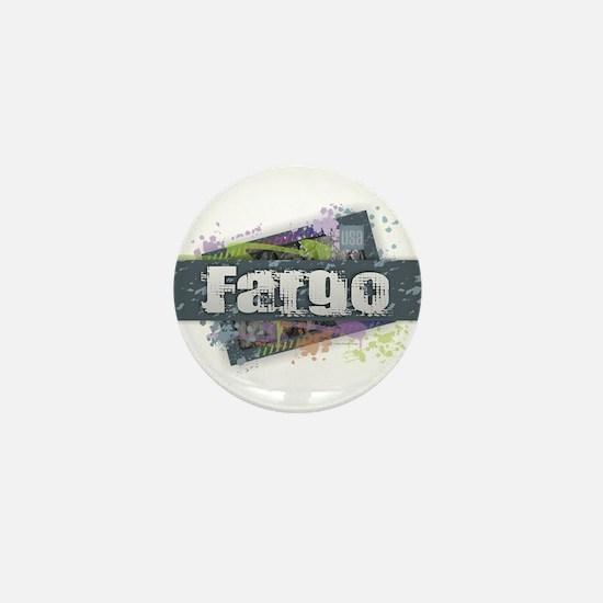 Fargo Design Mini Button