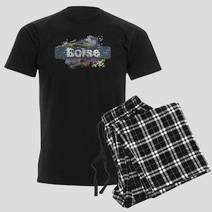 Boise Design Men's Dark Pajamas