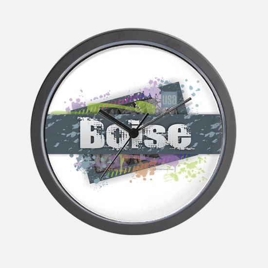 Boise Design Wall Clock