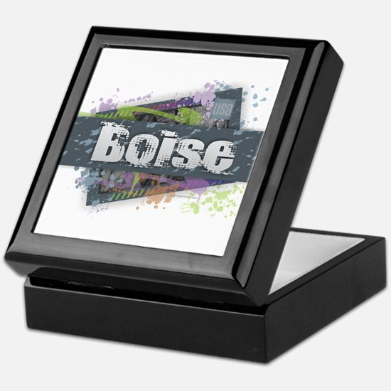 Boise Design Keepsake Box