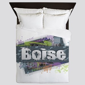 Boise Design Queen Duvet