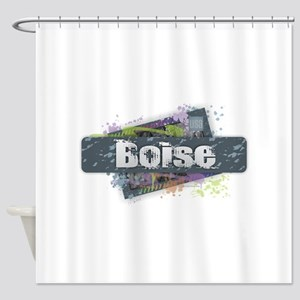 Boise Design Shower Curtain