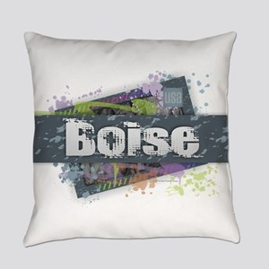 Boise Design Everyday Pillow