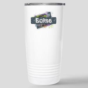 Boise Design Stainless Steel Travel Mug