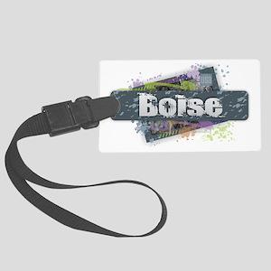 Boise Design Large Luggage Tag