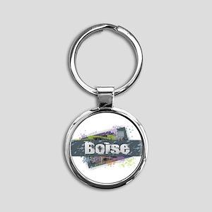 Boise Design Keychains