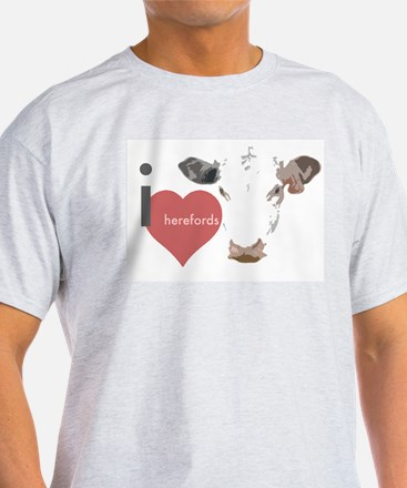 Cute Herefords T-Shirt