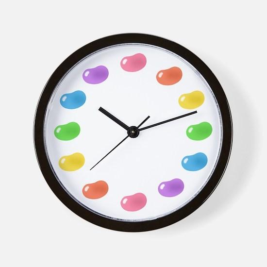 12_jelly_beans01circle.png Wall Clock
