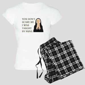 TAUGHT BY NUNS Women's Light Pajamas
