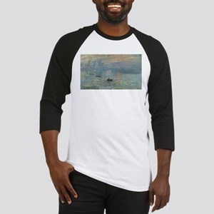 Claude Monet's Impression, Soleil Baseball Jersey