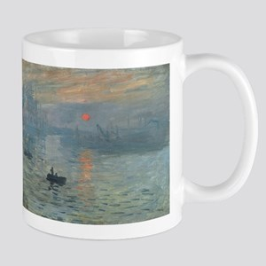 Claude Monet's Impression, Soleil Levant Mugs